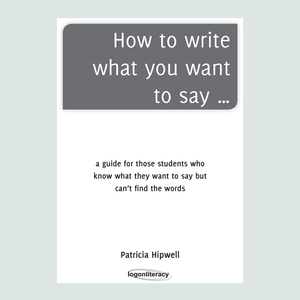 How to write what you want to say... US Edition