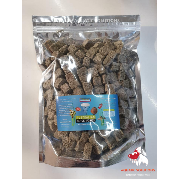 Original Cubes Worm 200g (Ziplock Bag)