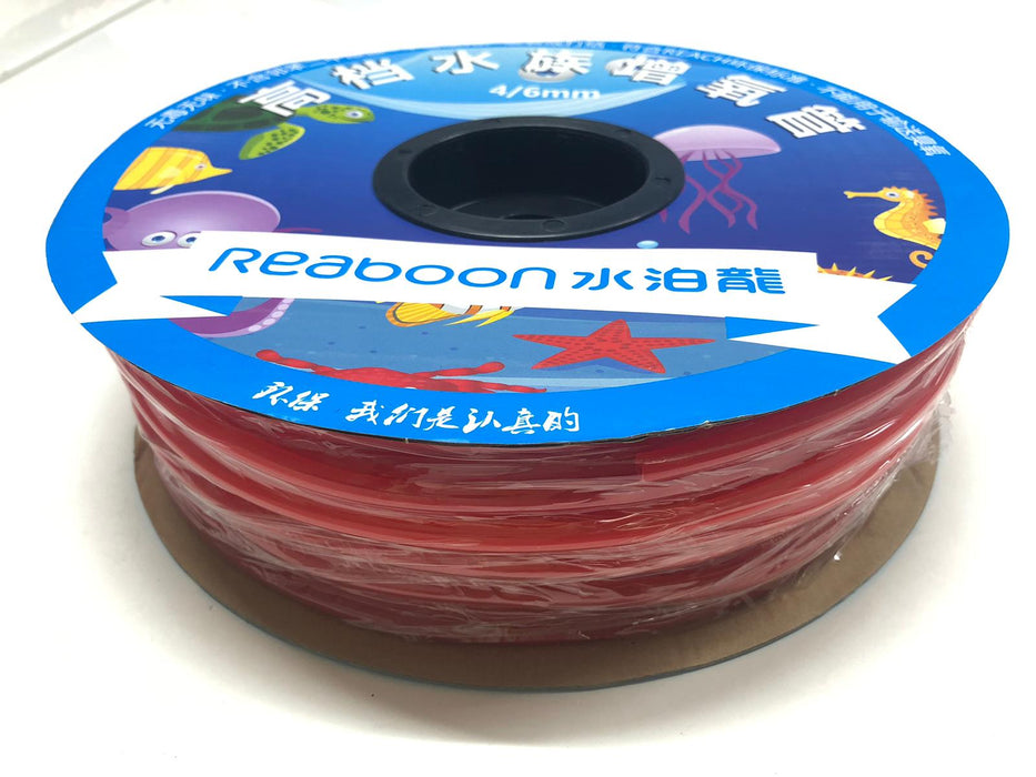Silicone Airline Tubing Red Ruby 100m