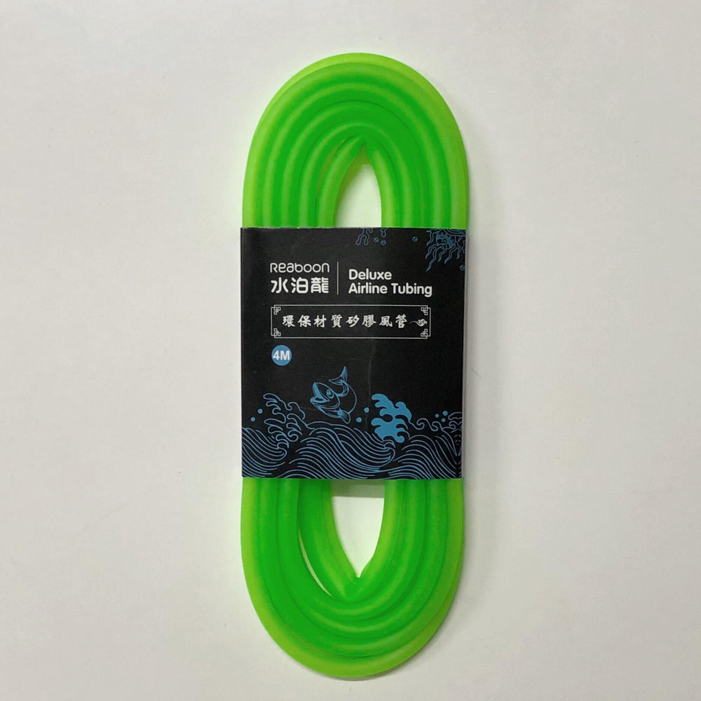 Silicone Airline Tubing Fluoro Green 4m