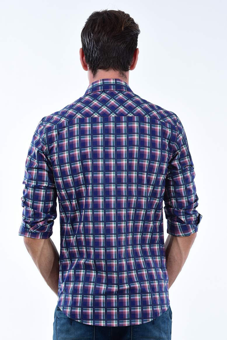 Multicolour Plaid shirt
