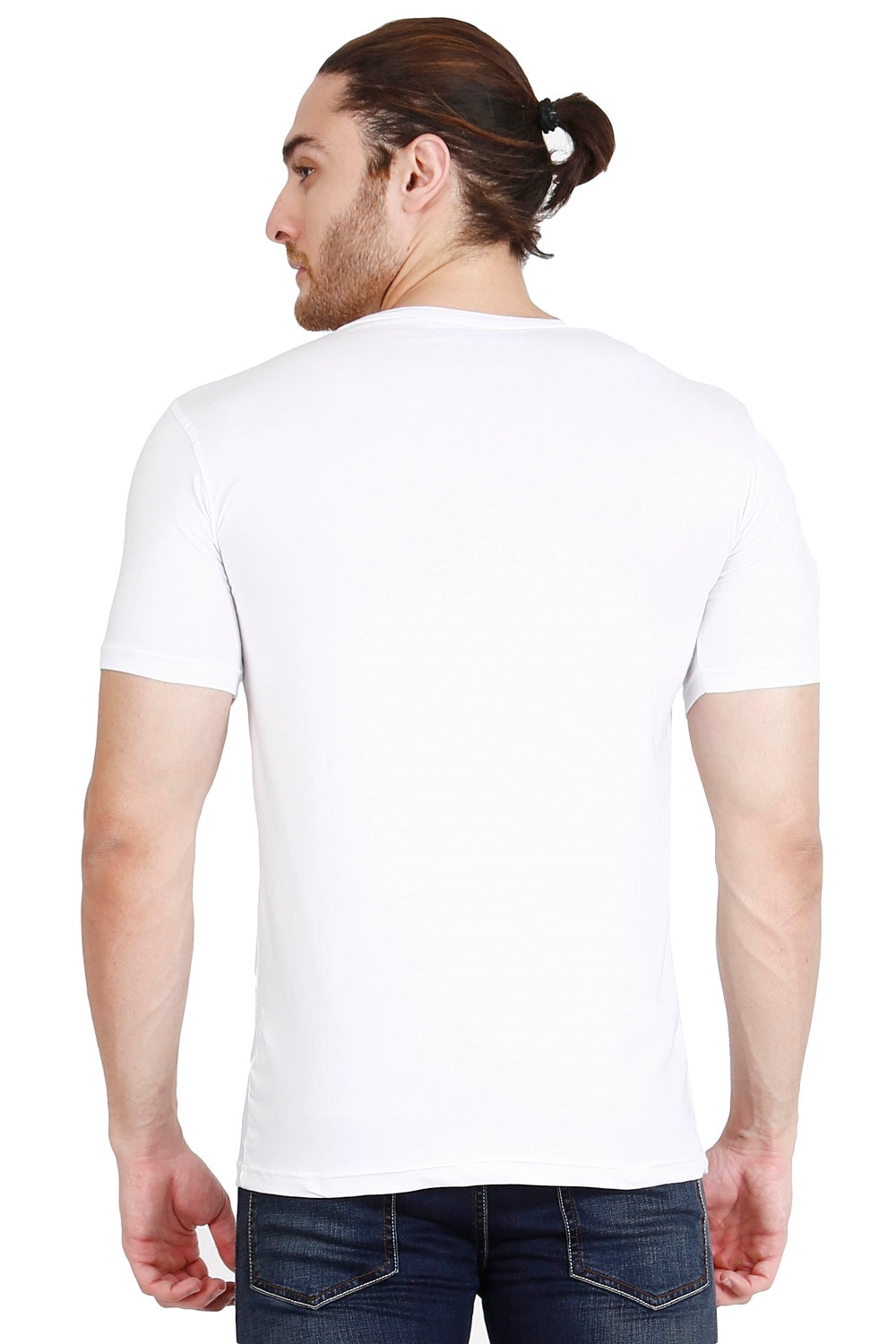 Hunt and Howe Men's White Printed T-Shirt