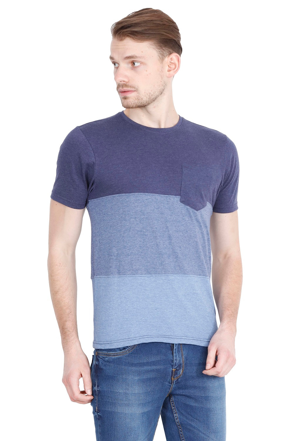 Hunt and Howe Men's Engineered styled Short Sleeve T-Shirt