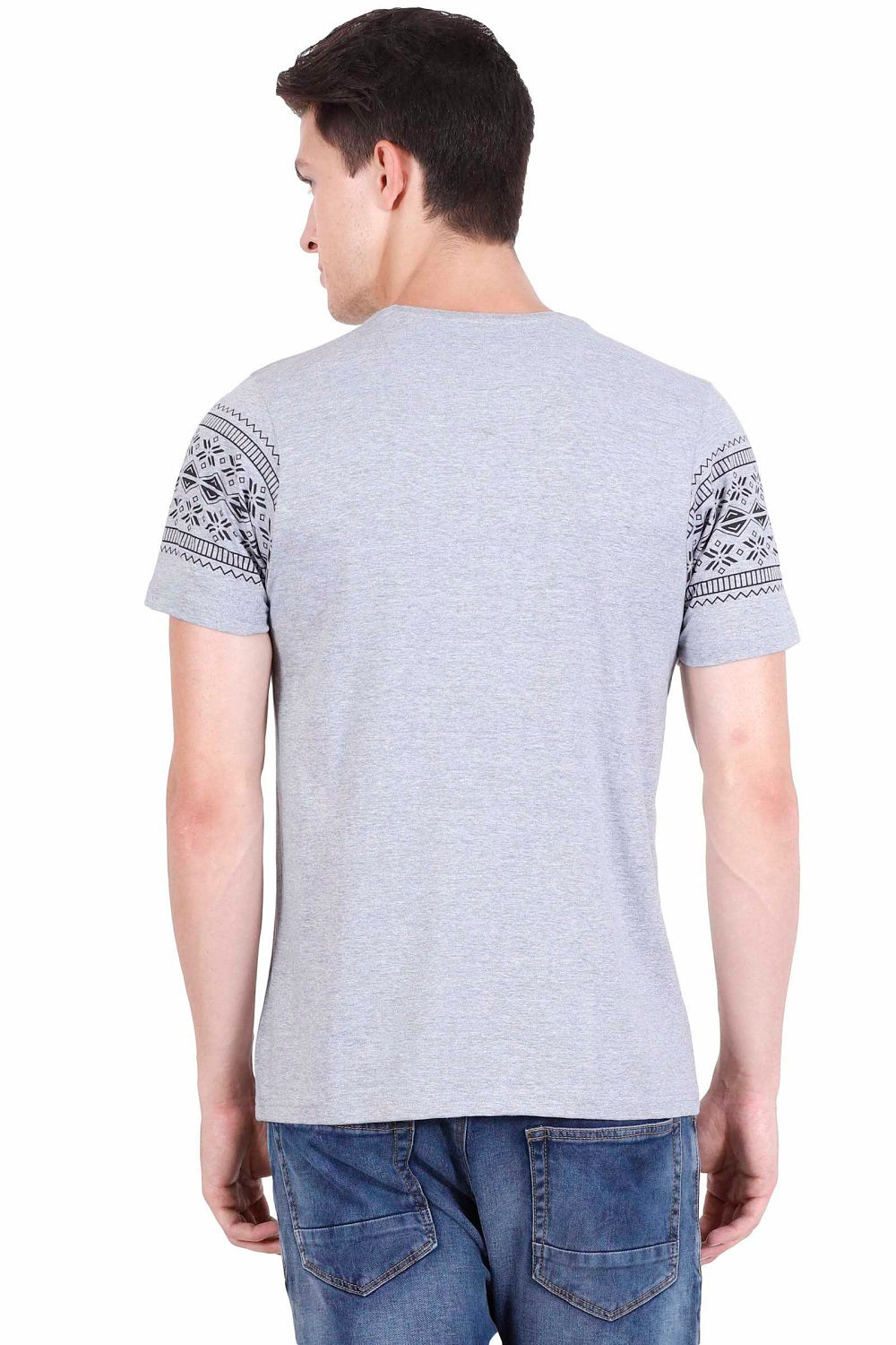 Hunt and Howe Men's Geometric Print T-Shirt