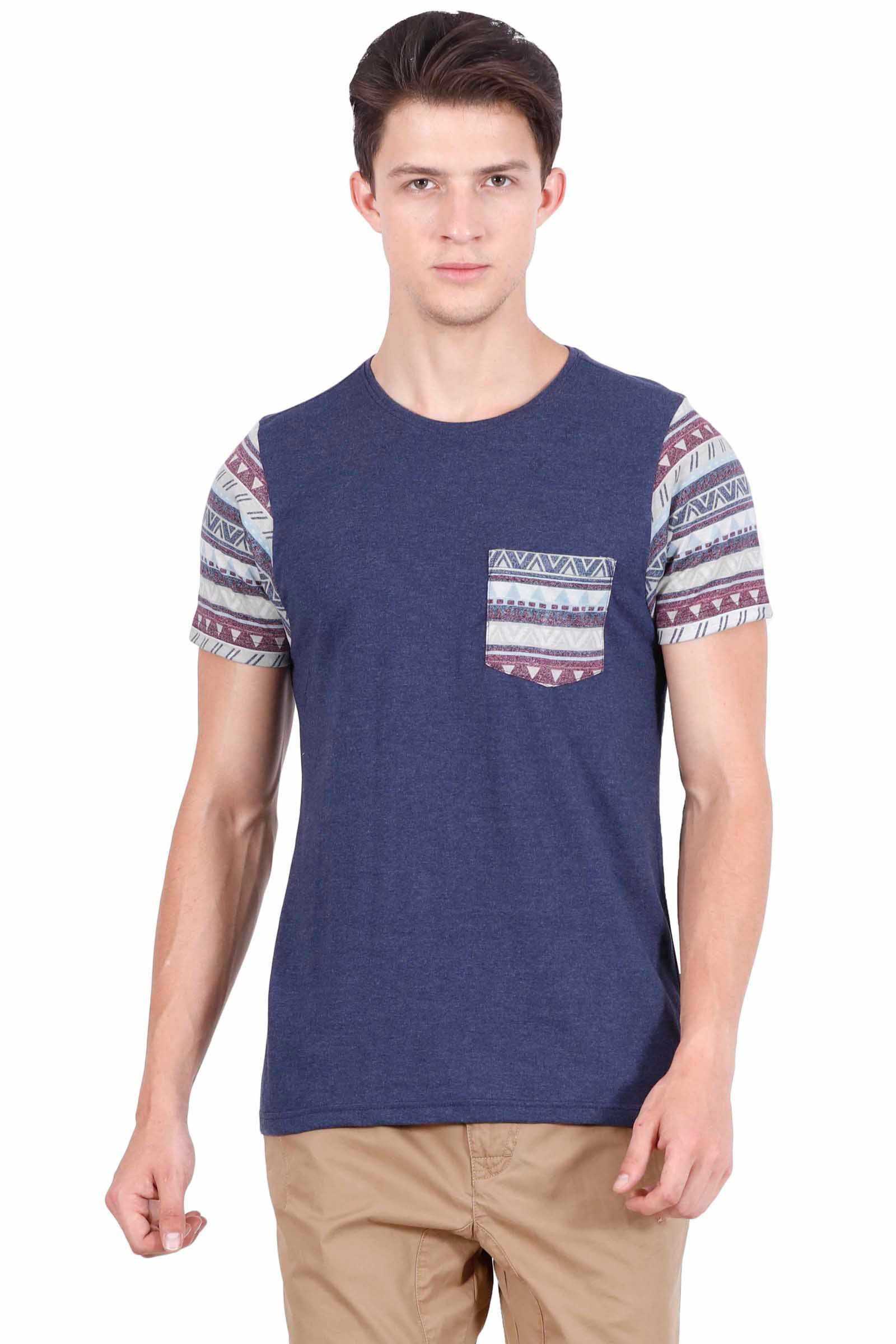 Hunt and Howe Men's Round Neck Short Sleeve T-Shirt