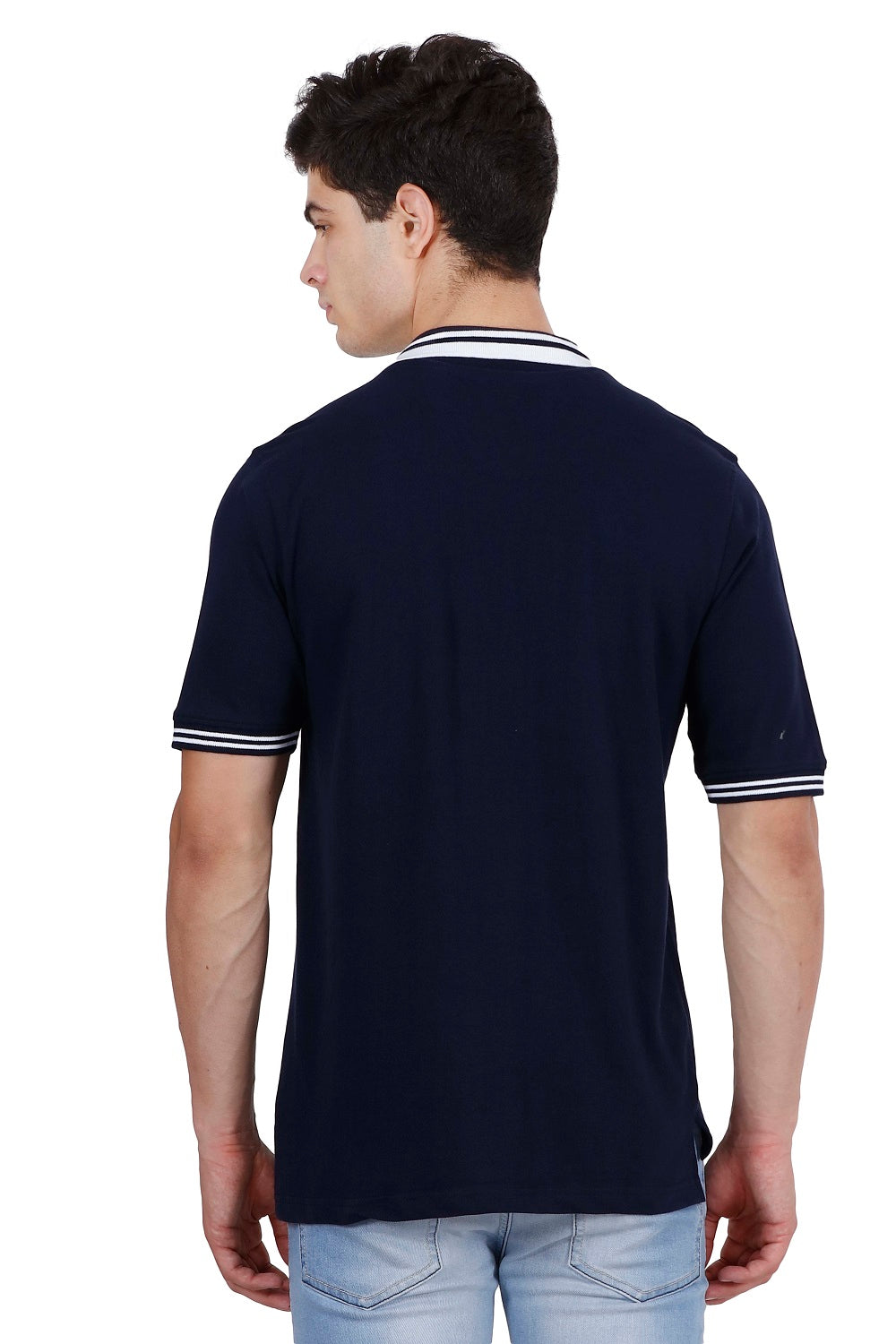 Hunt and Howe Men's Navy Blue Polo T-Shirt