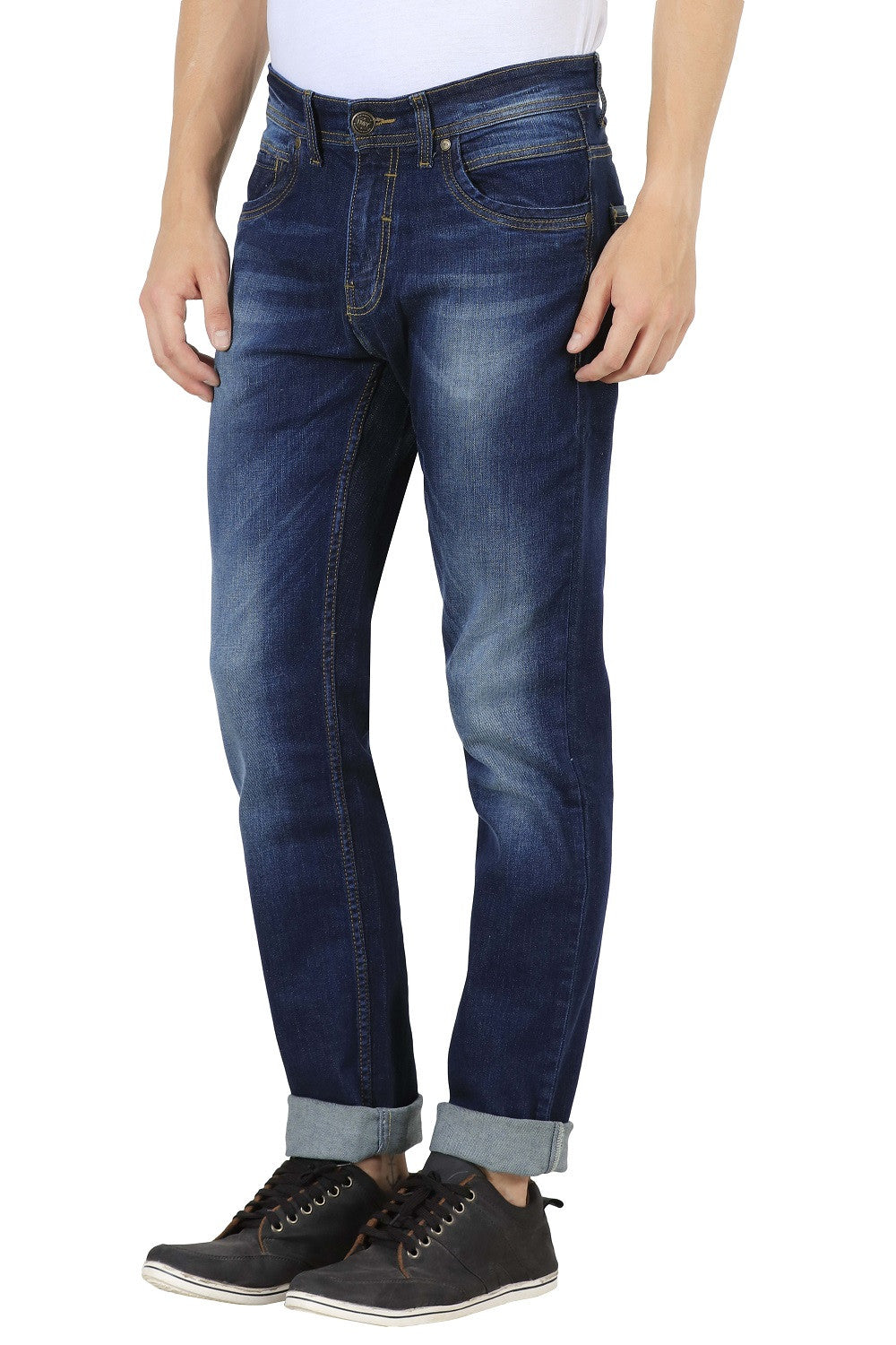 IMYOUNG Tin Blue Slim Fit Jeans