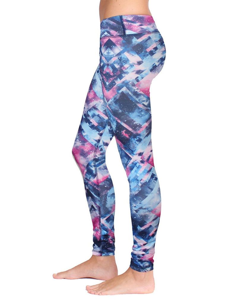 Cosmic Plaid Ferocity Legging