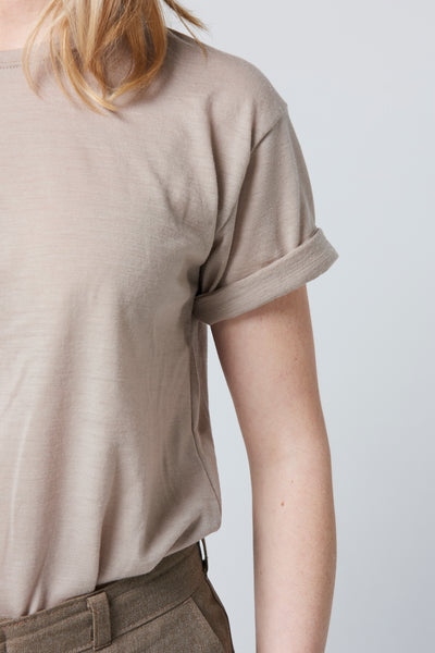 Merino T-shirt sleeve