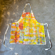 Lino Printed Apron - Tucker. My Country My Culture