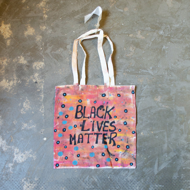 Lino Printed Tote Bags- Tucker. My Country, My Culture
