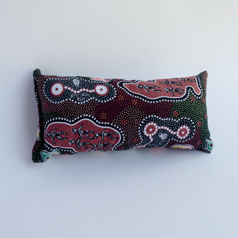 Neck Cushion, Small - Paperbark Woman