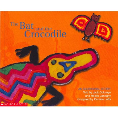 """The Bat and the Crocodile"" by Pamela Lofts"