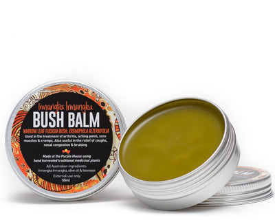 Used by Aboriginal people of Central Australia to relieve arthritis, sore tired muscles, joint inflammation, cramping and bruises. Also useful in soothing cold and flu symptoms.