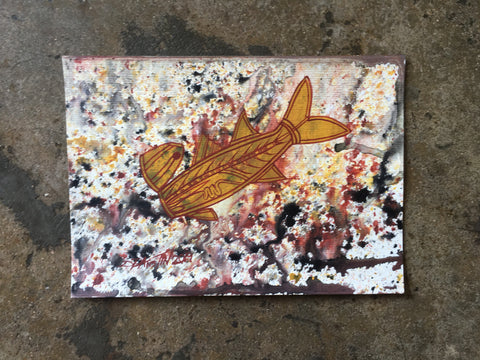 Small Catfish 2 painting - Dale Austin