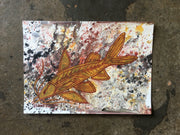 Small Catfish painting - Dale Austin