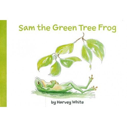 Sam the Green Tree Frog