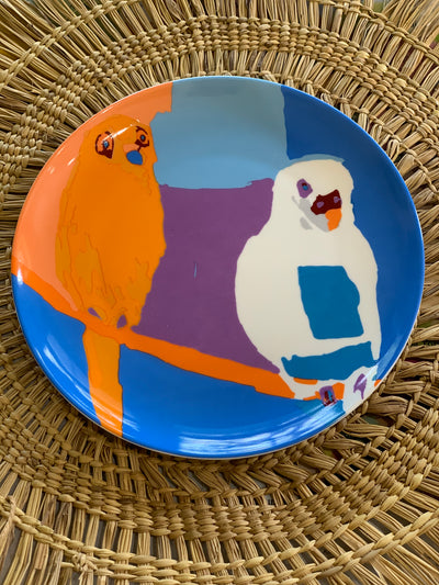 "7"" Ceramic Plates - Assorted Designs"