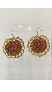 Earrings - Kunkanemkenh (Pandanus earrings)  - Injalak Arts Size S