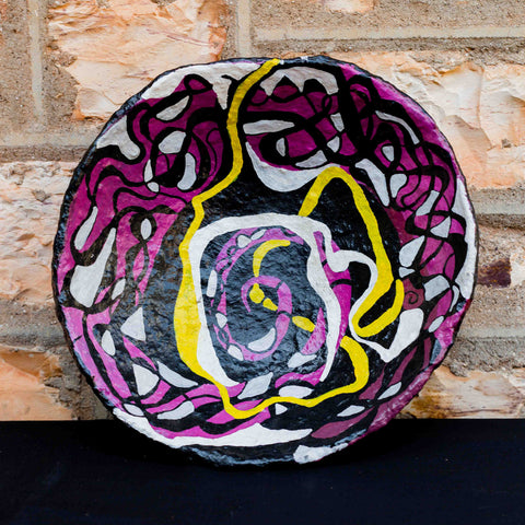 Handpainted Bowl by Margaret Gilbert