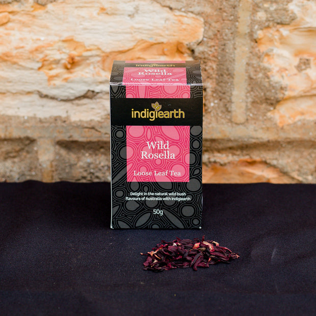 Wild Rosella (or Roselle) is a member of the Hibiscus family. Hibiscus tea is known for its extremely high content of antioxidants (mainly flavonoids).