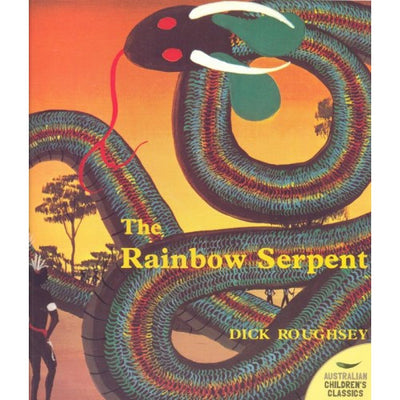 """The Rainbow Serpent"" by Dick Roughsey"