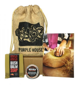Purple House Bush Balm Gift Bag $20.00