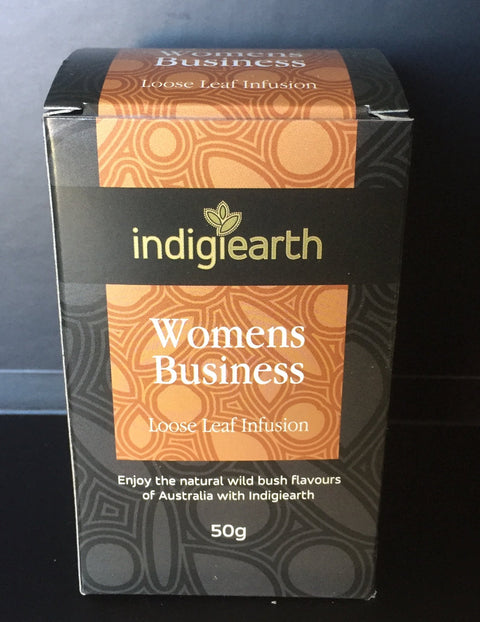 A new women's tea blend is here! An Australian green tea blend, with Rosella flowers, Aniseed myrtle, Lemon myrtle, cinnamon myrtle. Relaxing and refreshing!