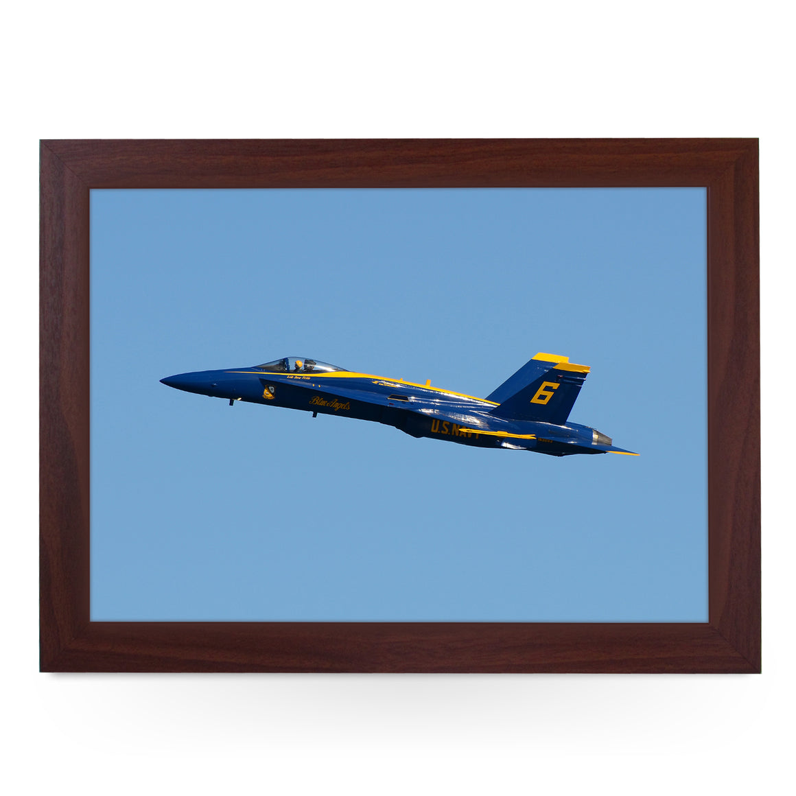 Boeing Blue Angels F/A-18 Hornet Plane Lap Tray - AD14071