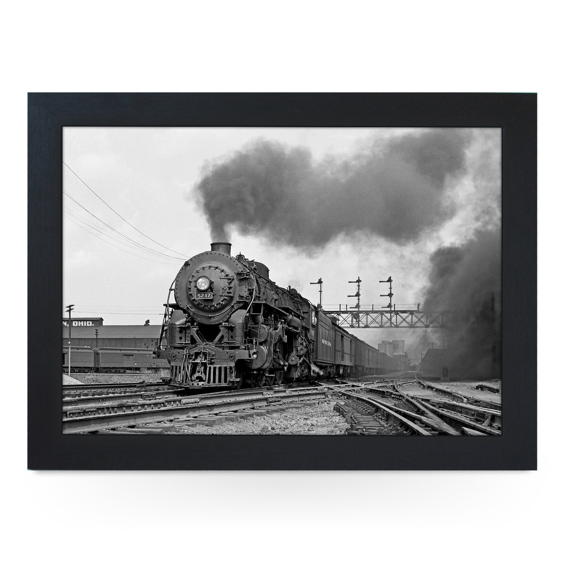New York Central 4-6-4 5217 #7467 Train Lap Tray - BWS00003