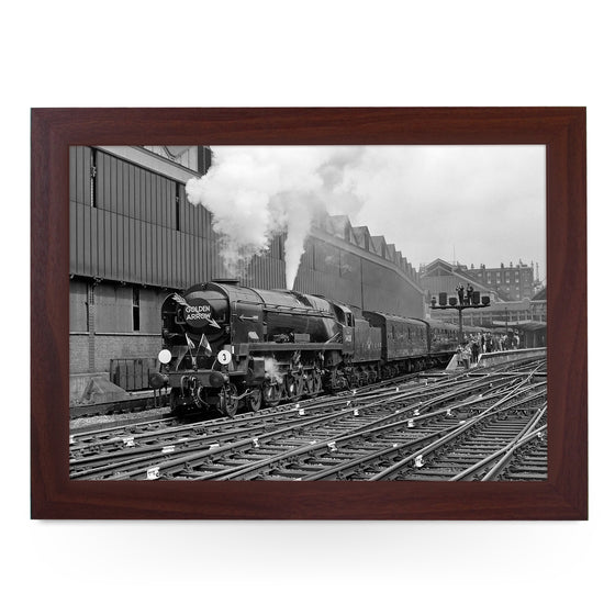 Last steam Golden Arrow #4021 Train Lap Tray - BWS00033