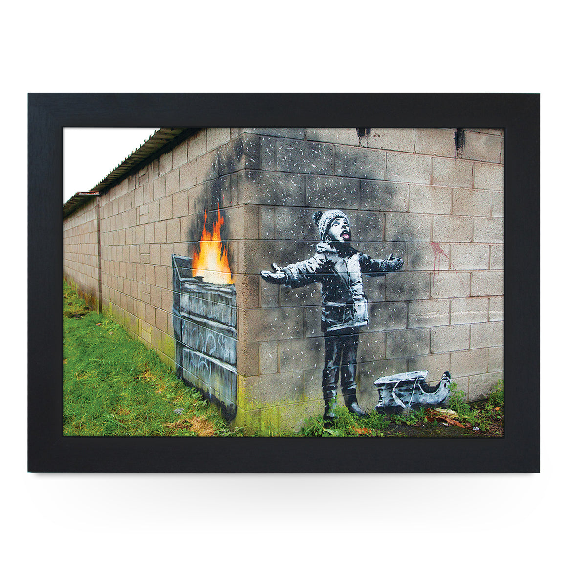 Banksy Season Greetings Lap Tray - L0760