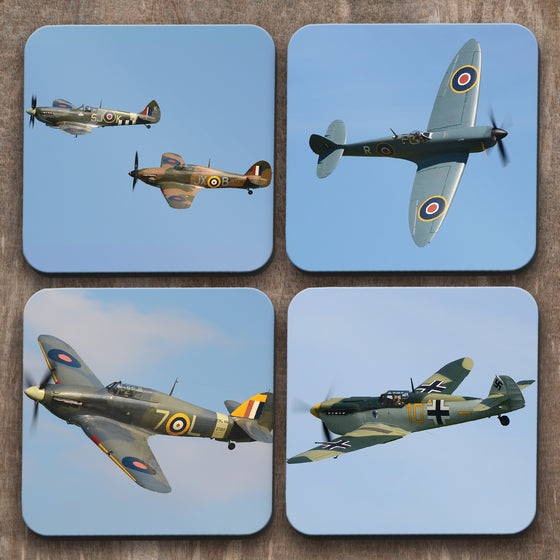 Battle of Britain  x 4 Coasters C0024