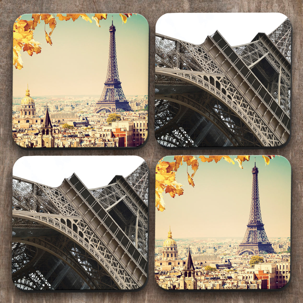 Paris  x 4 Coasters C0026
