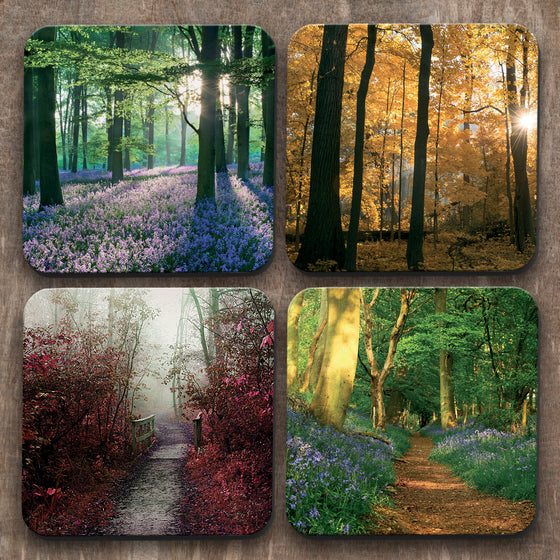 Forests  x 4 Coasters C0027
