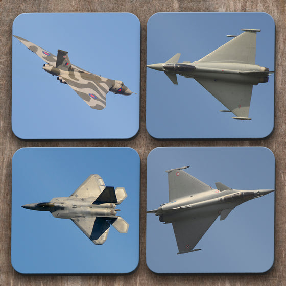 Fighter Jets x 4 Coasters C0034