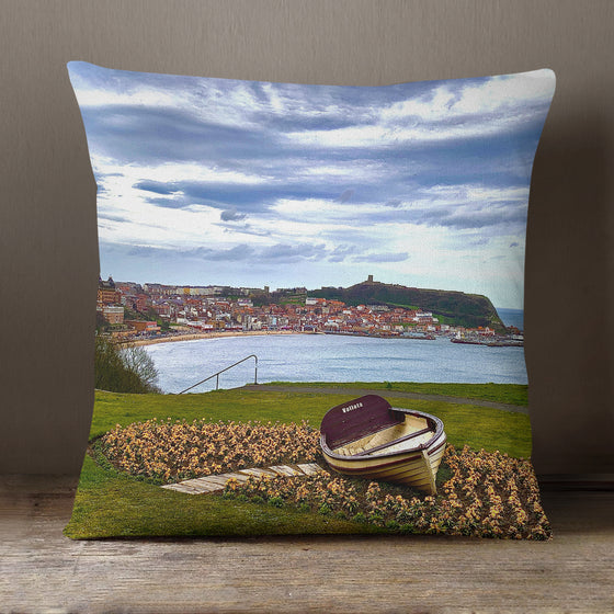 Scarborough2, England UK C910 - 40 cm Cushion