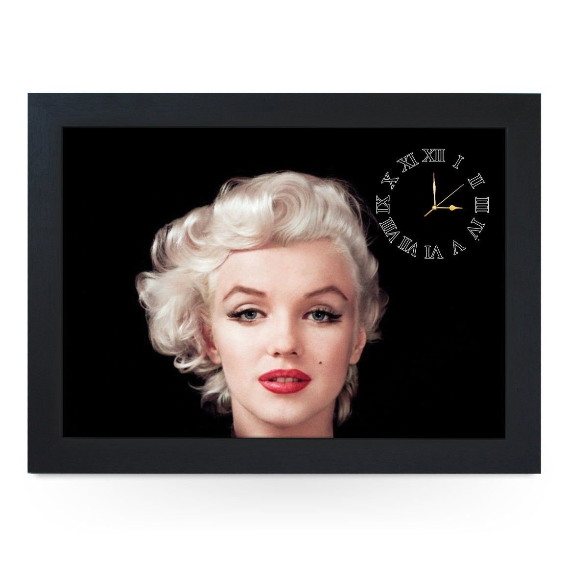 Wooden Picture Frame Clock. CL033 Marilyn Monroe