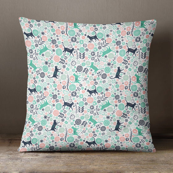 Urban Jungle Cats by Vicky Yorke Designs - 45 cm Cushion