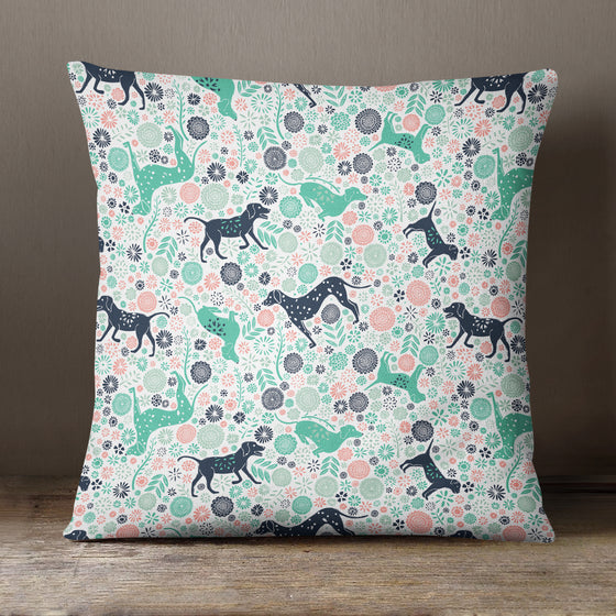 Urban Jungle Dogs by Vicky Yorke Designs - 45 cm Cushion
