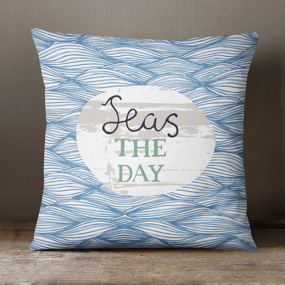 Seas The Day by Vicky Yorke Designs - 45 cm Cushion