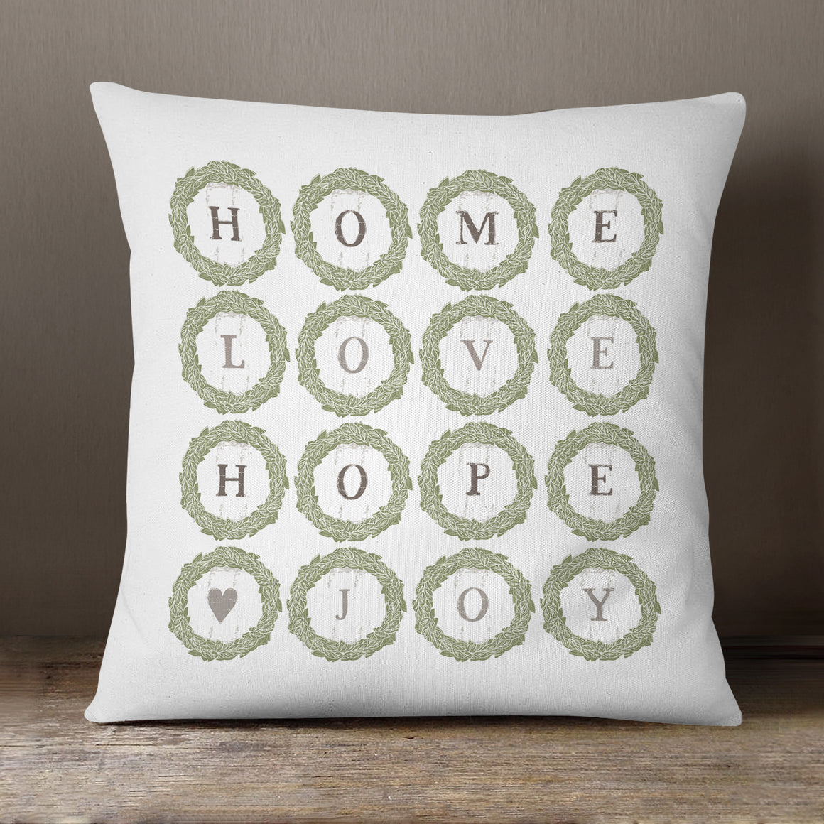 Home Love Hope Joy by Vicky Yorke Designs - 45 cm Cushion