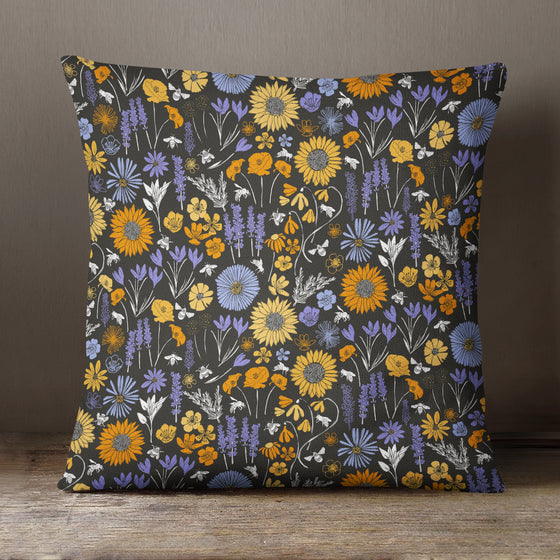 Sunflower Pattern by Vicky Yorke Designs - 45 cm Cushion