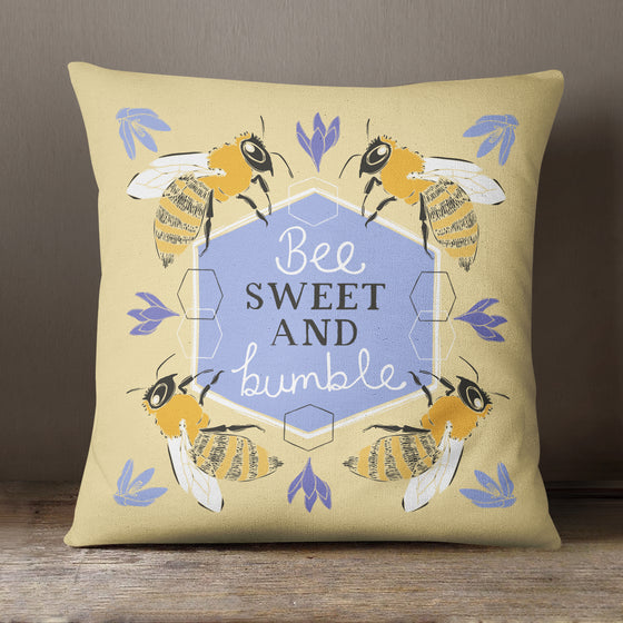 Bee Sweet And Bumble by Vicky Yorke Designs - 45 cm Cushion