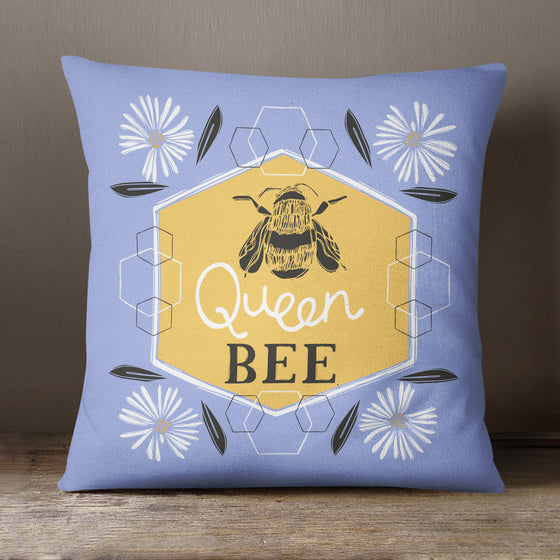 Queen Bee by Vicky Yorke Designs - 45 cm Cushion