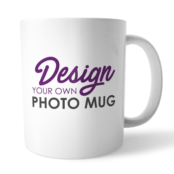 Design Your Own Photo Mug