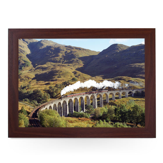 B1 Crosses Glenfinnan Viaduct Train Lap Tray - JFS00014