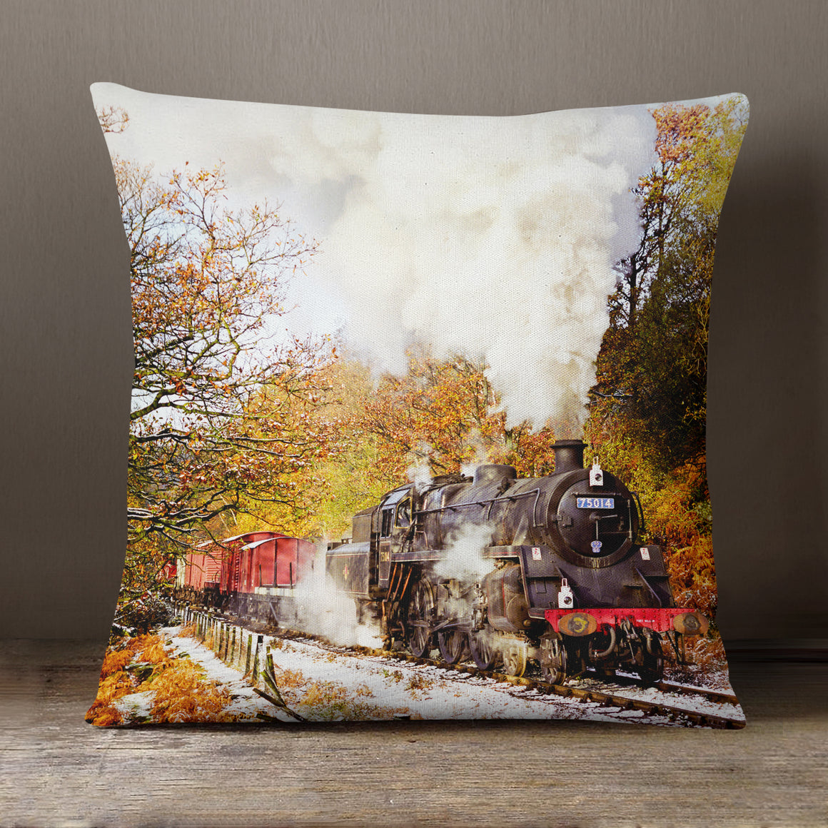 Beck Hole, North York Moors Railway  - 40 x 40 cm Cushion (JFS00034)