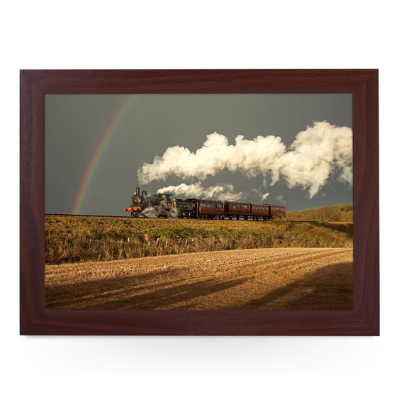 GER Y14 WITH RAINBOW, The North Norfolk Railway Train Lap Tray - JFS00082