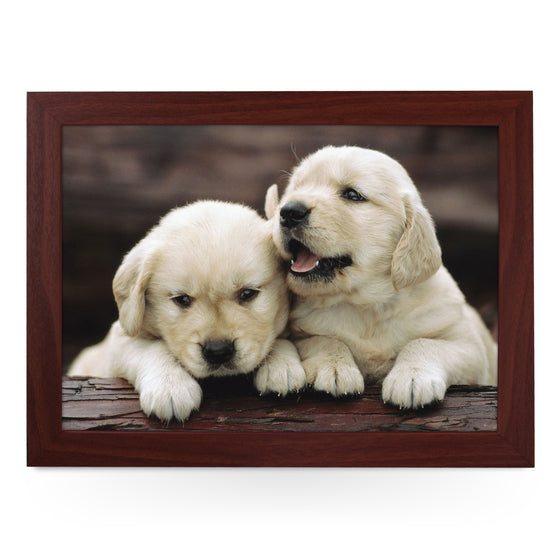 Golden Retriever Puppies Lap Tray - L0002
